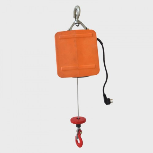 Portable electric traction hoist